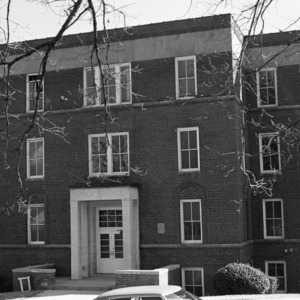 Atkins Hall--Winston-Salem Teachers College, Front View