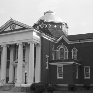 Oblique Front View, Waughtown Baptist Church