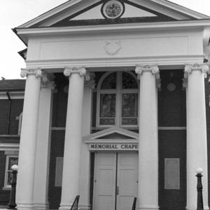 Portico, Waughtown Baptist Church