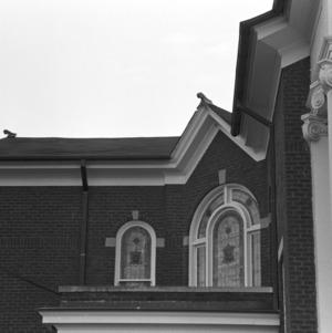 Facade Detail, Waughtown Baptist Church