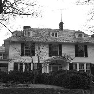 Front View, Burton Craig House