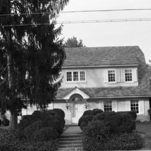A.H. Eller House, Front View