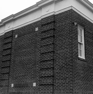 Facade Detail, Clemmons School