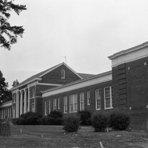 Oblique Front, Clemmons School