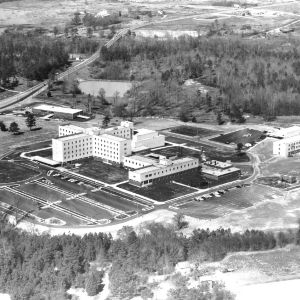 Aerial Shot, Rex Hospital