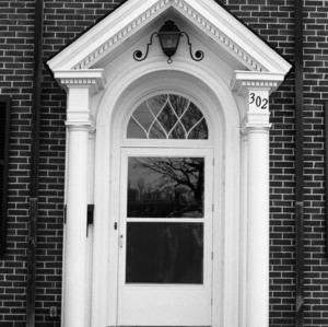 Entrance, Edward C. Ashby House