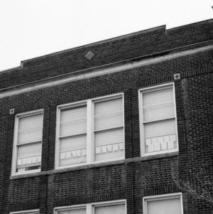 Facade, North Main Street School