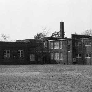 North Main Street School, Back View