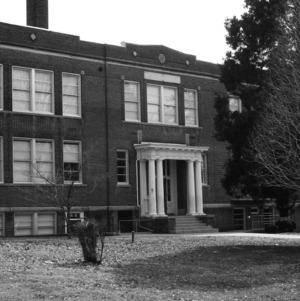 North Main Street School, Side View