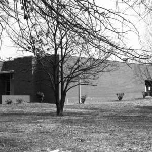 North Main Street School, Front View