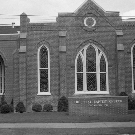 Facade, First Baptist Church