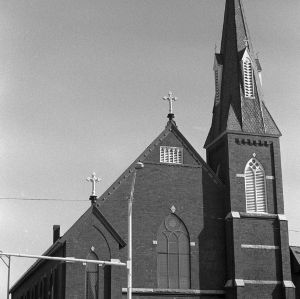 St. Peter's Catholic Church, Front View