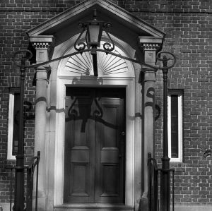 Entrance, J. Luther Snyder House