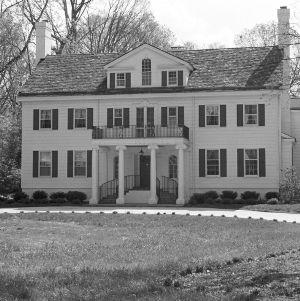 Front Facade, Charles W. Tillett House