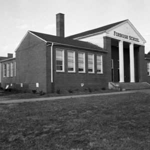 Forbush School, Side and Front View