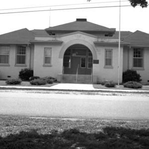 Façade, Mocksville Graded School