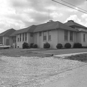 Mocksville Graded School, Side View
