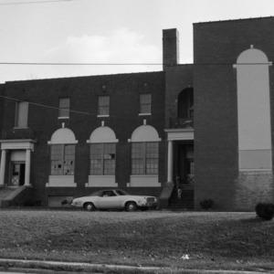 Draper Graded School, (former),  Side View