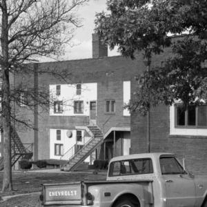Draper Graded School, (former), Rear View