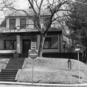 Façade, J. Kent Sheppard House