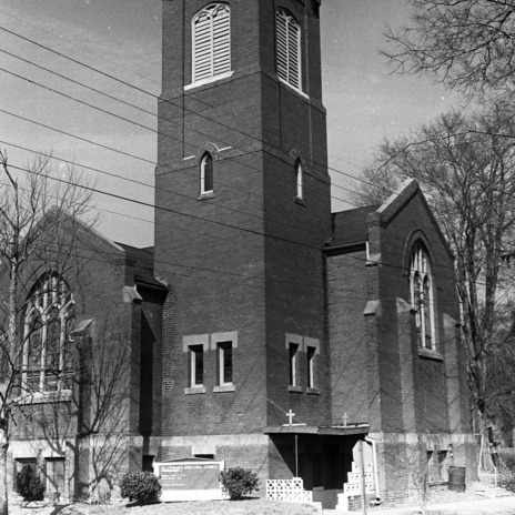 Façade Oblique, St. Cyprian's Episcopal Church