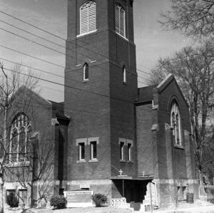 Façade Oblique, St. Cyprian's Episcopal Church