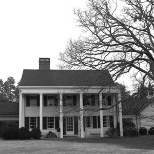 Silas B. Coley Estate, Rear View