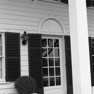 Rear Entrance, Silas B. Coley Estate