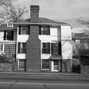 Side View, Burton Craige House