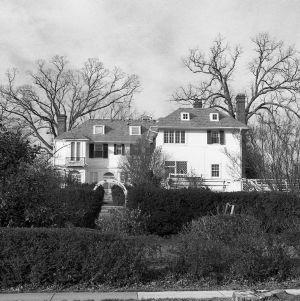 Rear View, Burton Craig House