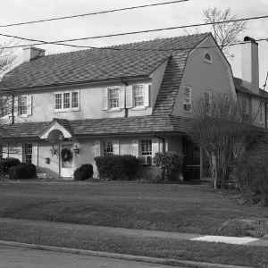 Oblique Façade, A.H. Eller House