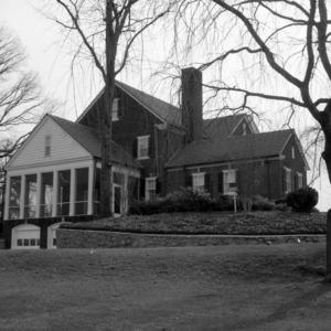 Side View, John Gilmer House