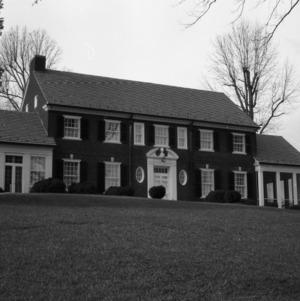 Façade, John Gilmer House