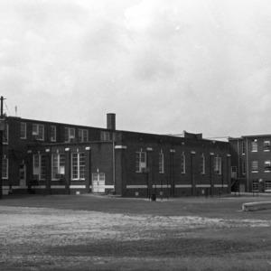 Benjamin Franklin Grady School, Rear View