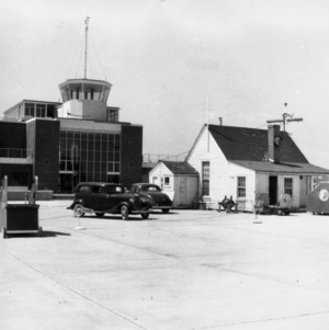 Side View, Smith Reynolds Airport
