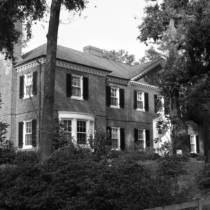 Side View, Hargrove Bellamy House