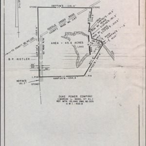 Survey Map of 4-H Club Foundation Iredell County Property