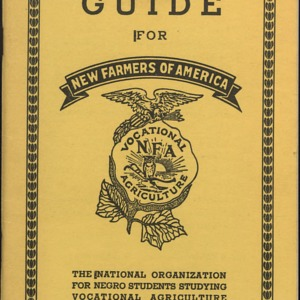 NFA Guide for The National Organizational for Negro Students Studying Vocational Agriculture