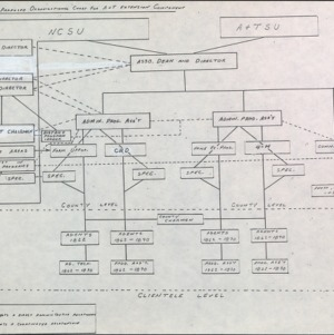 Proposed Organizational Charts for A&T Extension Component