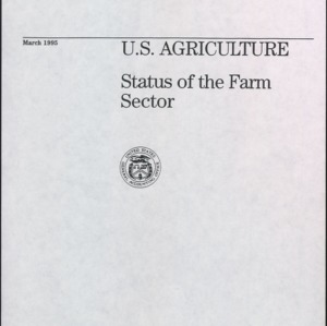 Fact Sheet for Congressional Committees, U.S. Agriculture Status of the Farm Sector