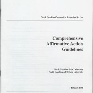 Comprehensive Affirmative Action Guidelines