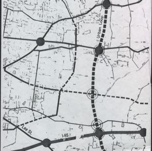 Map of A&T by Paul Walker