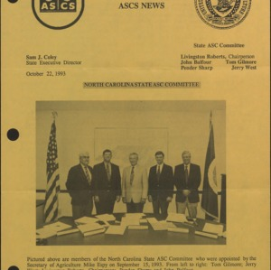 North Caroline State ASC Committee