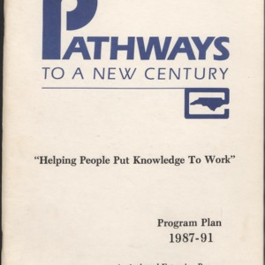 """Helping People Put Knowledge to Work"" Program Plan"
