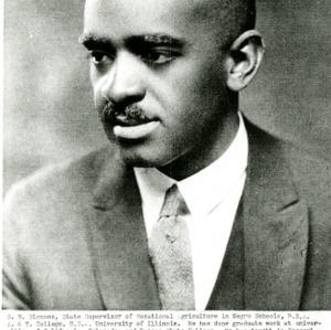 Bio and Photo of S.B. Simmons