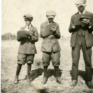 Judging Team 1920 at State Fair
