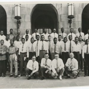 A Photograph of NFA Members and National Adult Officers