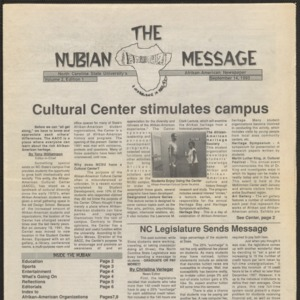 Nubian Message, November 14, 1993