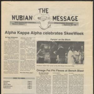 Nubian Message, November 28, 1993