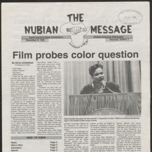 Nubian Message, December 9, 1993